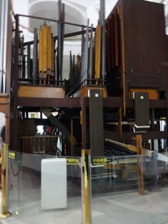 Organ Museum: Орган. Вид сбоку.