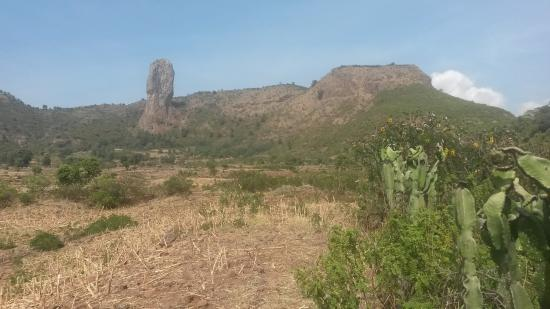 Gonder, Etiopia: Il dito di Dio