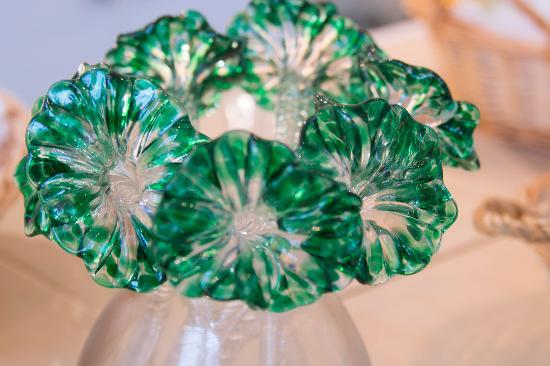 Glory Art Glass: Glass flowers