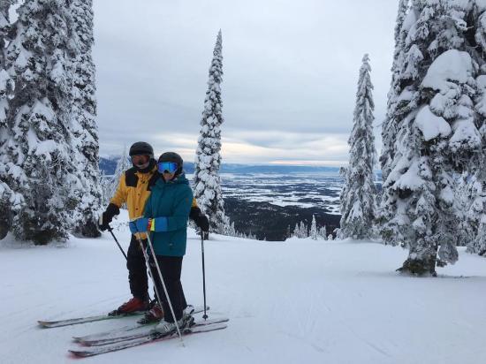 Kintla Lodge : Ski-in/ ski-ou