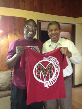 Grecia, Kostaryka: Warren from Morehouse and Dr Thomas CR University Proffesor