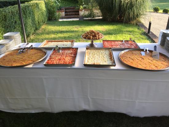 Melazzo, Италия: Buffet 1