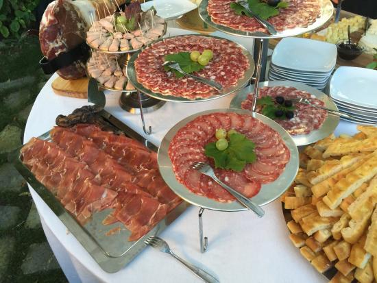 Melazzo, Италия: Buffet 3