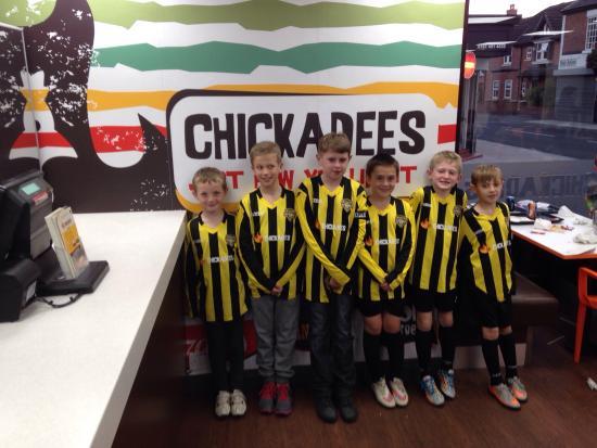 Cheadle, UK: Chickadees