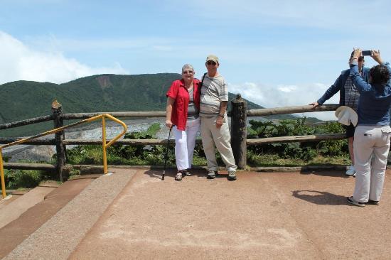 Grecia, Kosta Rika: Guest John and Linda over looking Jaco Beach