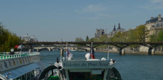 Vedettes du Pont Neuf: antes de subir