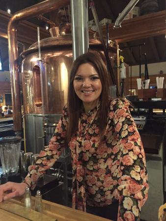 Davis, CA: One of several lovely bartenders