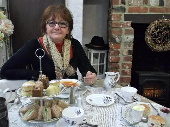 Stevenage, UK: Stagedoor afternoon cream tea