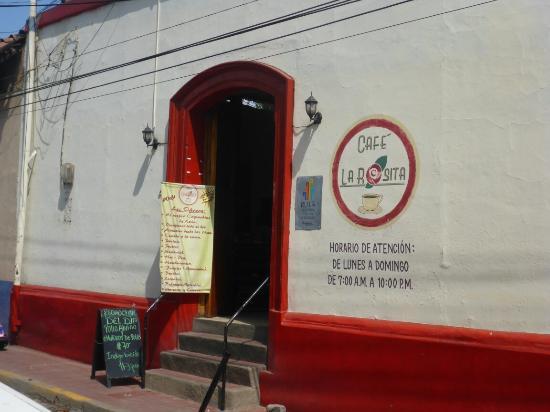 Cafe La Rosita: Entrance