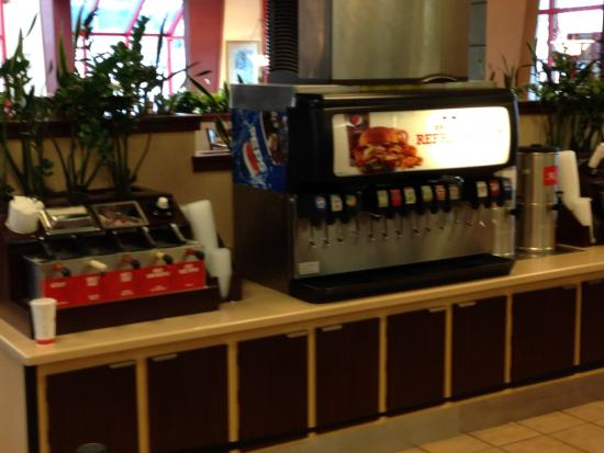 Douglasville, Τζόρτζια: Self Service Refreshment Center