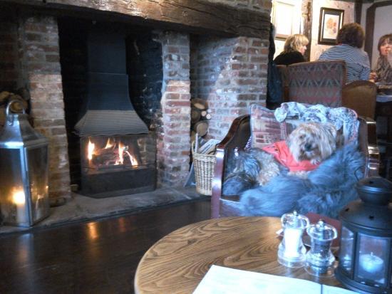Tenterden, UK: Warm and cosy