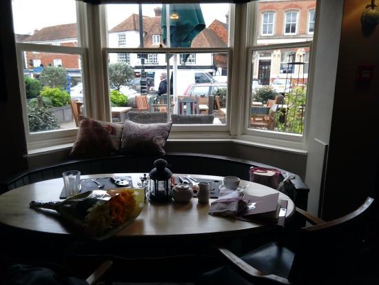 Tenterden, UK: View from bar