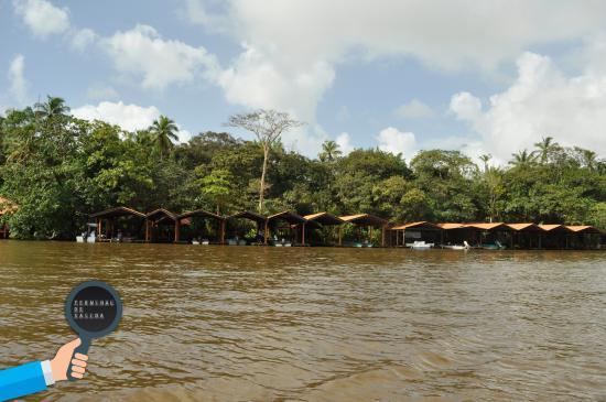 Pachira Lodge: Puerto de embarque