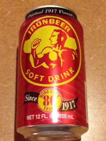 Marietta, GA: Cuban Iron Beer Soft Drink @ Cuban Diner