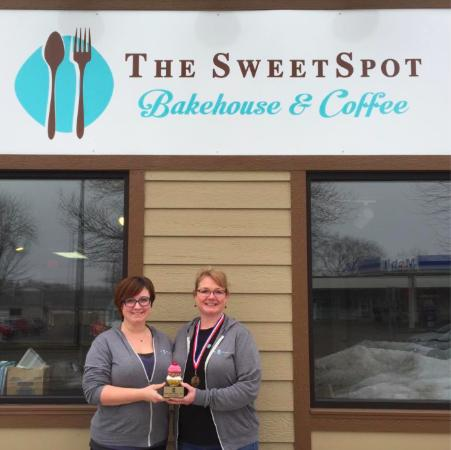 Whitewater, WI: Award winning cupcakes!
