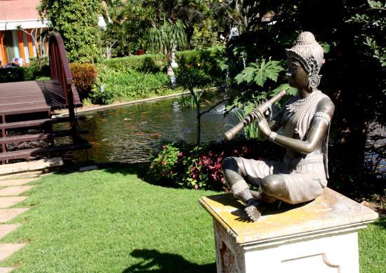 Hotel Botánico & The Oriental Spa Garden: im Hotelpark