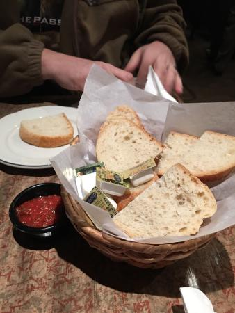 Southgate, MI: The bread and cold sauce that is very good