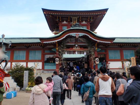 Hofu, Japonia: この奥に本殿があります。