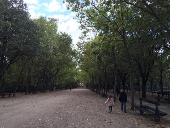 Paris, France: a walk in the park