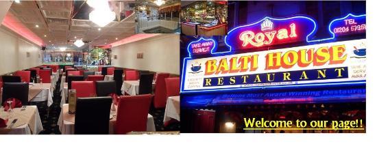 Bolton, UK: Royal Balti Front