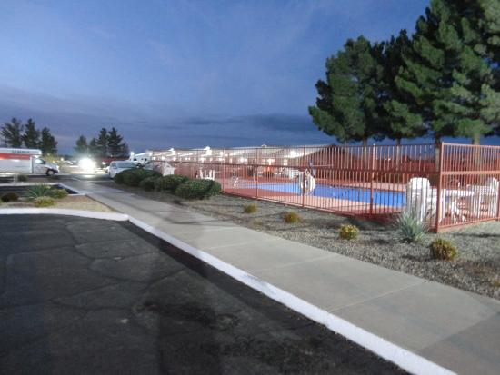 Deming, NM: Pool is empty for winter