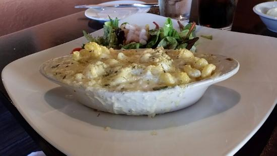 Depoe Bay, Орегон: Seafood Mac and Cheese