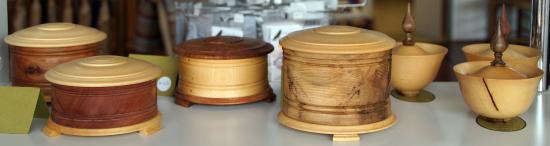 Deloraine, Australië: Wooden bowls at Elemental