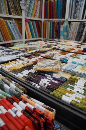 Deloraine, Australien: Quilting Fabric at Elemental artspace