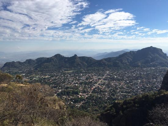 Tepozteco: View from the peak