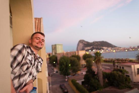 La Linea de la Concepcion, İspanya: View from our room