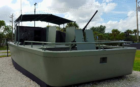 Fort Pierce, FL: River gunboat