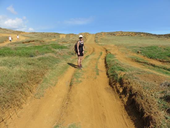 Naalehu, Hawaje: One of the trails