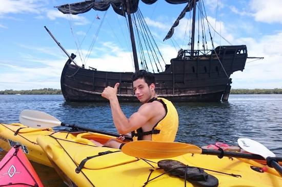 Ballina, Австралия: Portuguese caravel