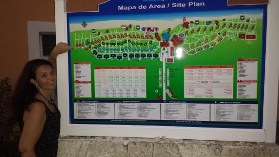Grand Bahia Principe San Juan Map