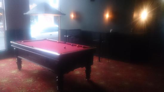 Corner Hotel: A Pool Table