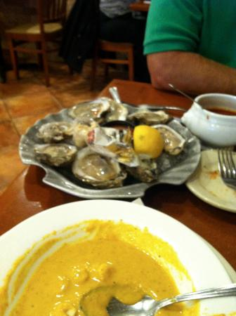 Howard Beach, NY: OYSTERS AND LOBSTER BISQUE!