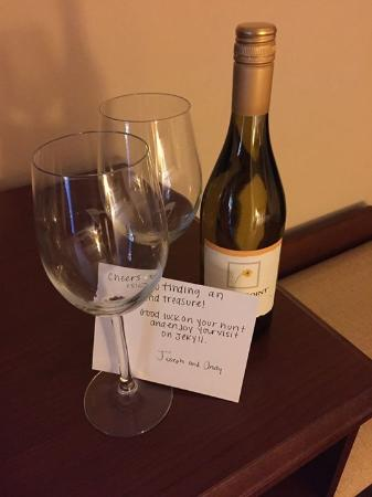 Hampton Inn & Suites Jekyll Island: Our welcome from the staff