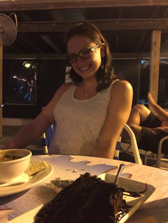 รัสกิน, ฟลอริด้า: Chocolate cake for Bday girl