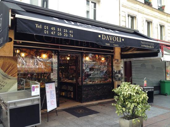 davoli rue cler picture of davoli paris tripadvisor rh tripadvisor co za