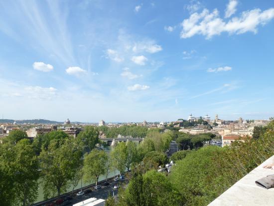 Вид на город с Aventine Hill