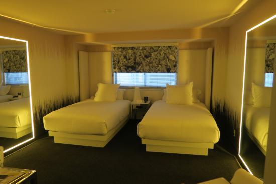 two double beds picture of sls las vegas hotel casino las vegas rh tripadvisor co nz