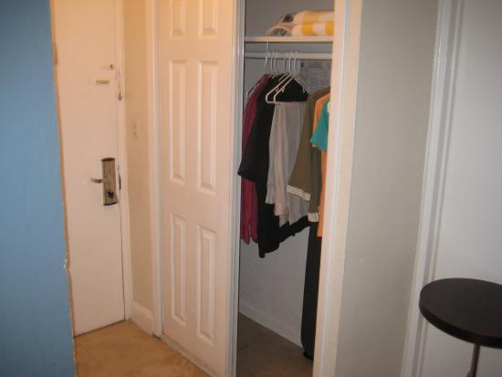 Starlite Hotel: Closet With Iron And Ironing Board