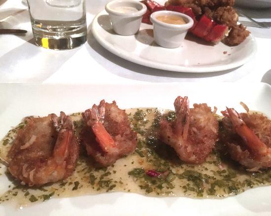 Reston, VA: Coconut shrimp