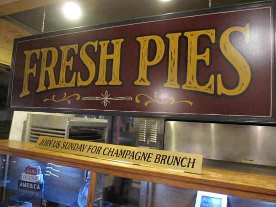 Camarillo, Kalifornien: The pie counter