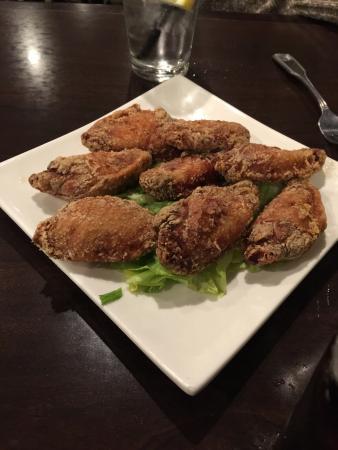 Fairfield, Californië: Sticky Rice Fried Chicken Wings