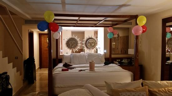 Excellence Playa Mujeres: Special touches for the birthday boy