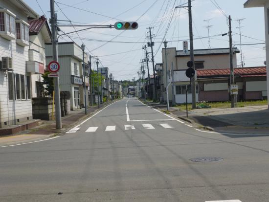 Minamisoma, ญี่ปุ่น: 南相馬市小高区の街中の様子