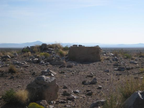 Deming, Nuevo Mexico: Fort Cummings Ruins