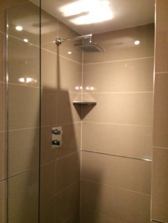 Peak Edge Hotel: Large shower