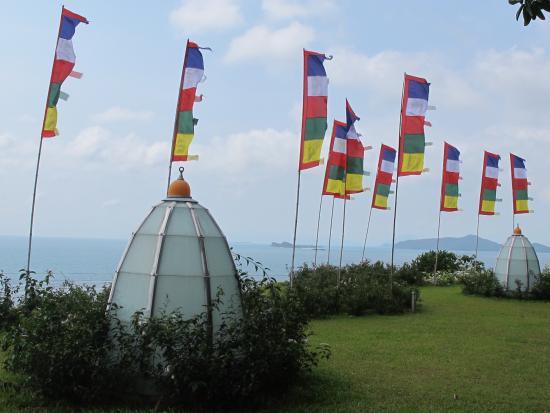 Laem Set, Tailândia: Meditation area